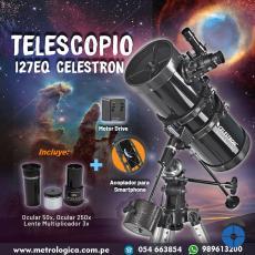 Telescopio PowerSeeker 127EQ-Metrologica