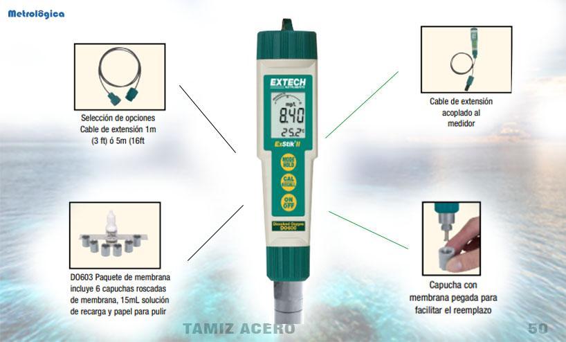 Medidores de oxígeno