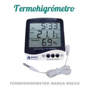 termo higrometro boeco